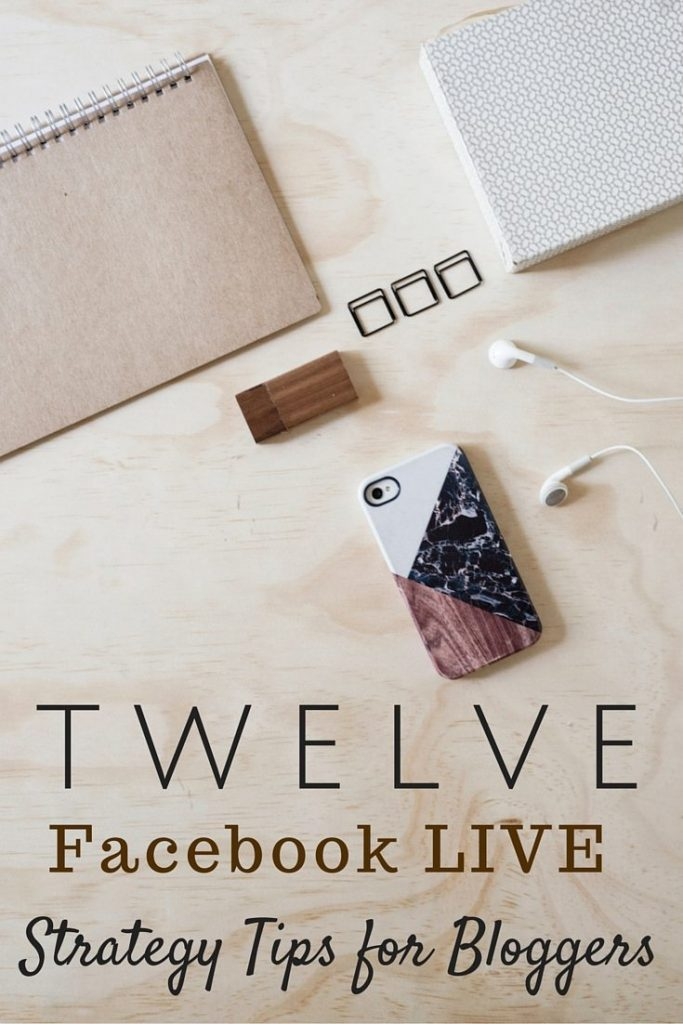 Facebook live strategy Pinterest