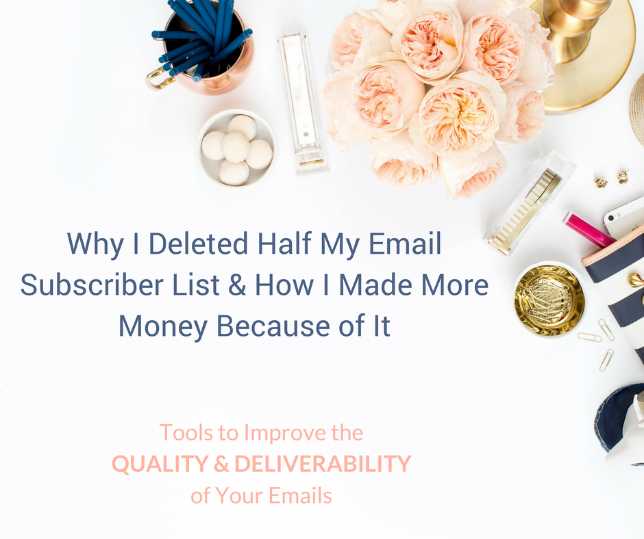 Why Deleting Half Your Email Subscriber List Makes Sense