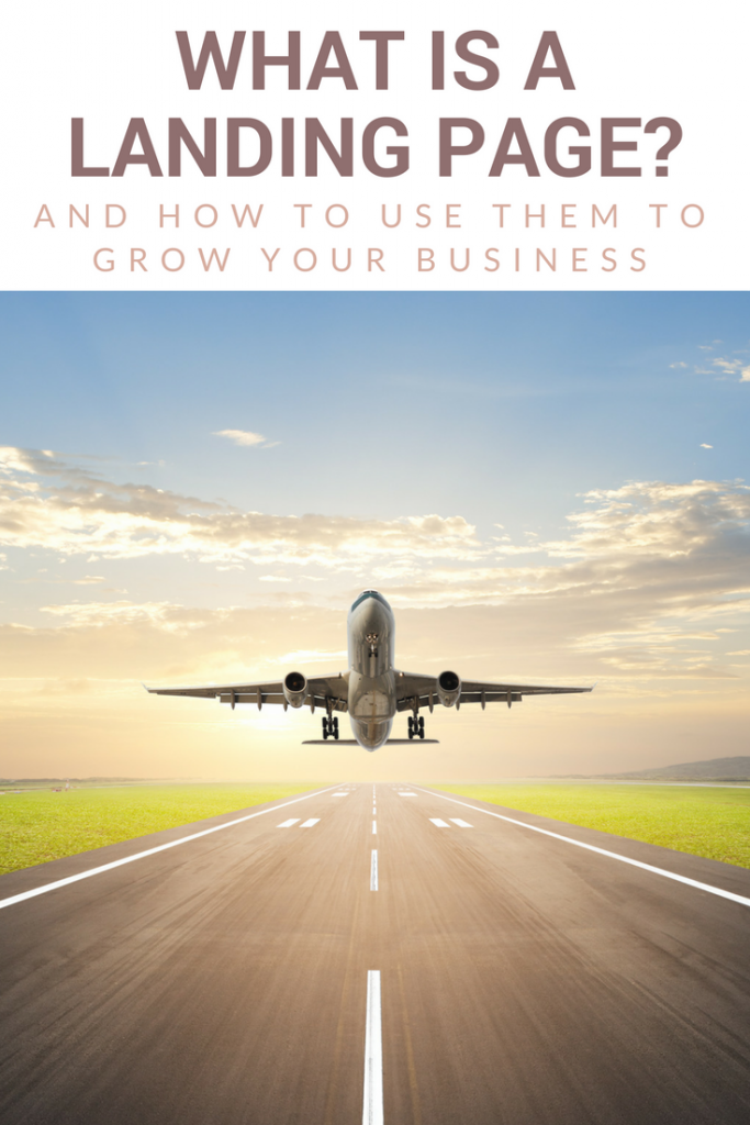 What is a Landing Page & How Can You Use a Landing Page to Grow Your Blogging Business?
