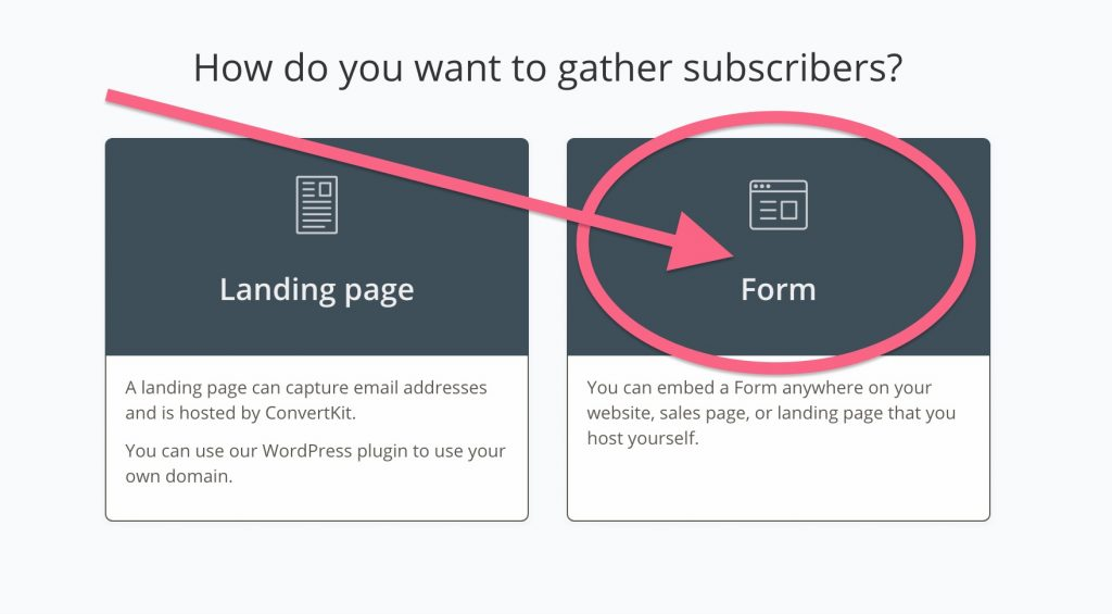Creating Forms in ConvertKit