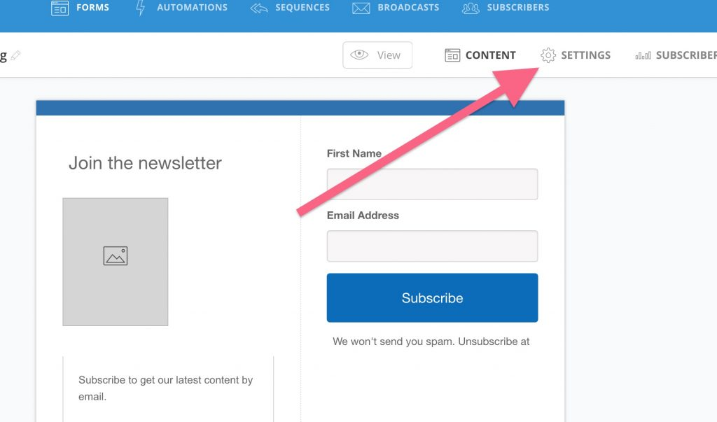 How to Make a Form in ConvertKit