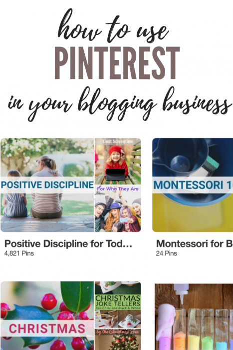 How to use Pinterest in Your Blogging Business